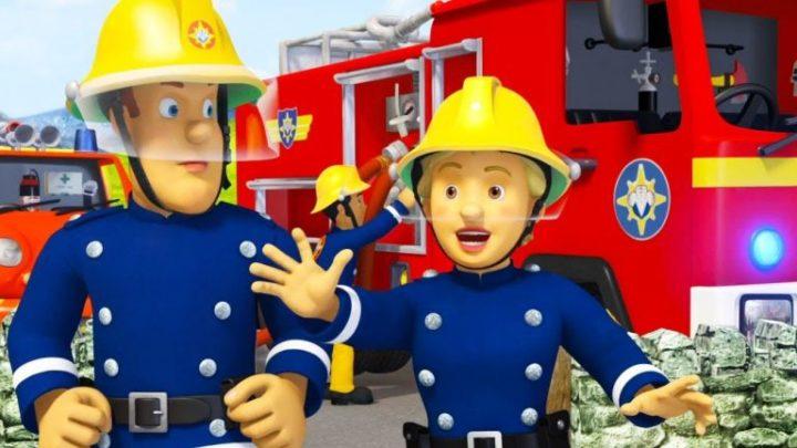 пожежники, кадр з мультфільму