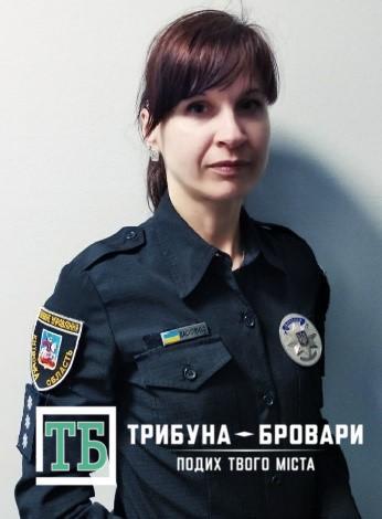 дільнична Олена Василенко