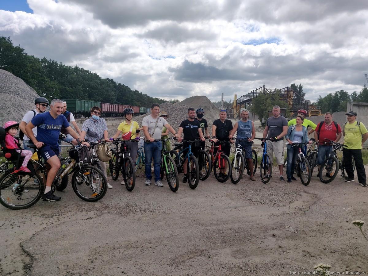 Велоекскурсія на фоні ШБУ-50
