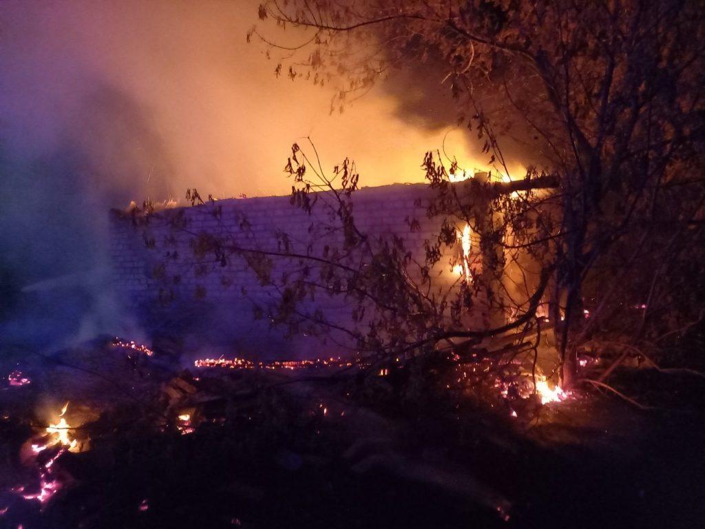 Пожежа Бервиця