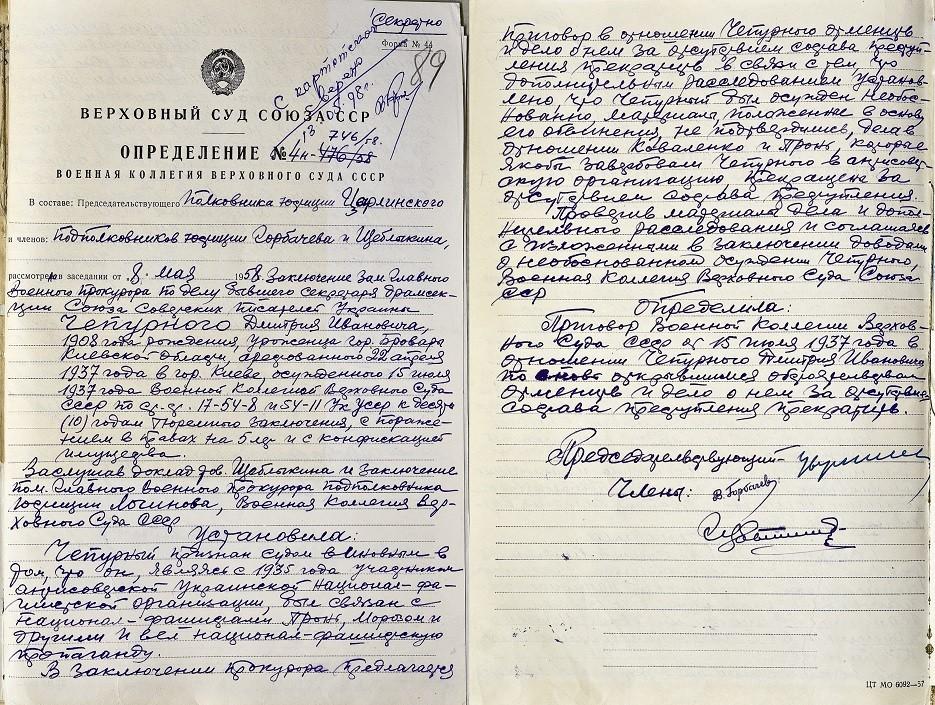 Дмитро Чепурний, реабілітація