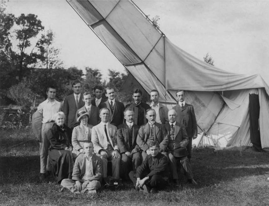 Команда обсерваторії Вільяма Кемпбелла в Броварах