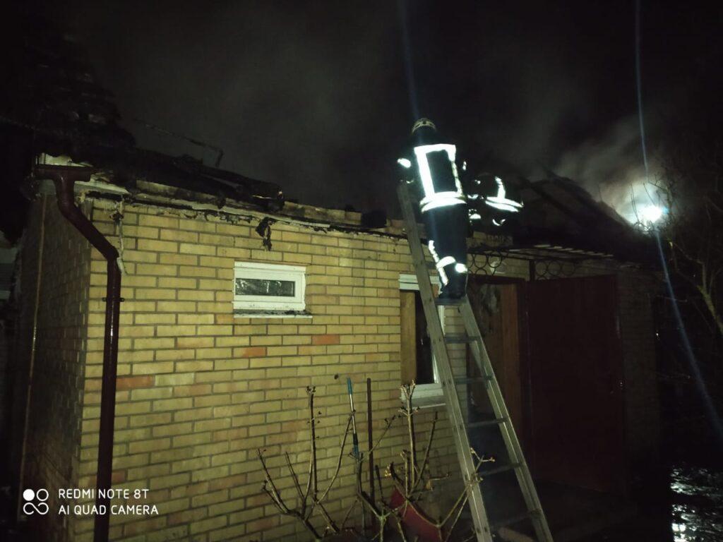 Пожежа лазні в Зазим'є