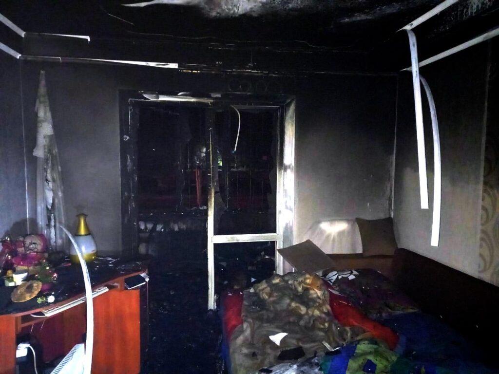 Пожежа Калита загибла жінка
