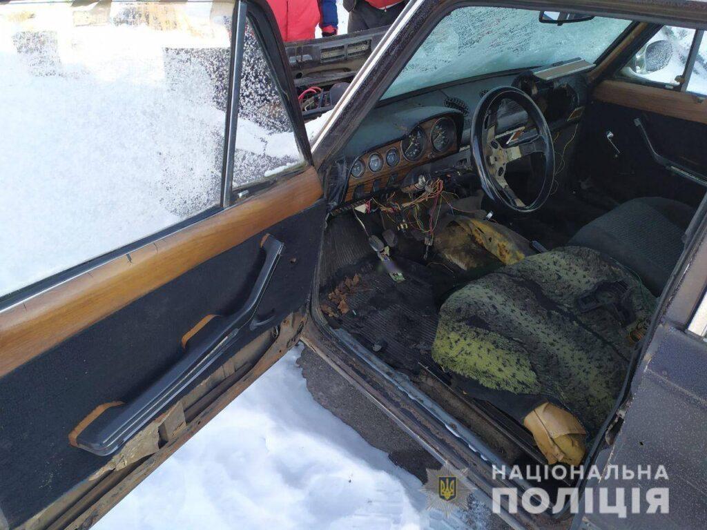 Викрадення автомобіля ВАЗ