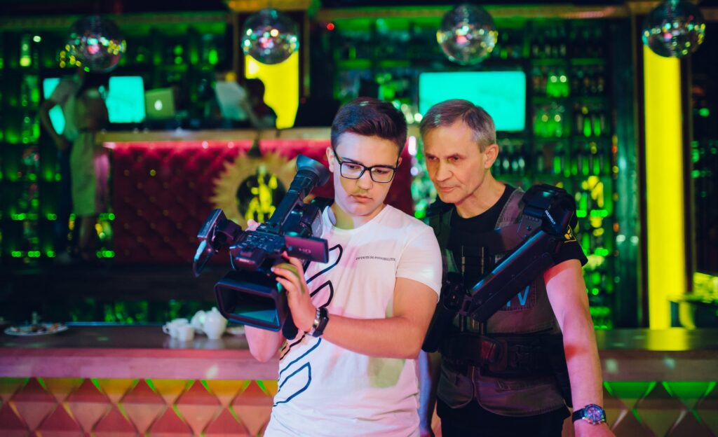 Юрій Дорошенко з батьком