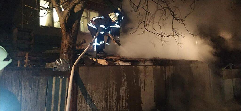 Пожежа Бровари 13 січня