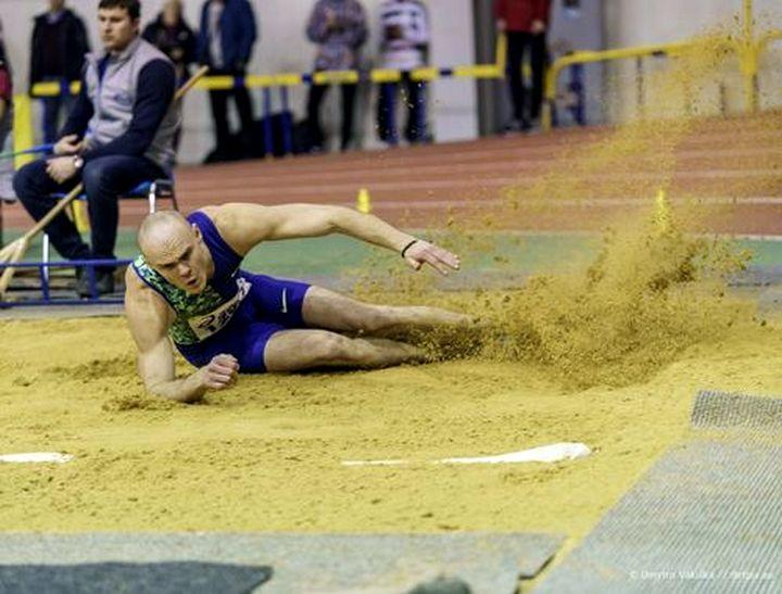 Сергій Никифоров легка атлетика, стрибки у довжину