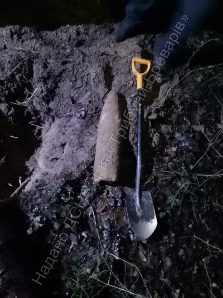 Снаряд в пухівському лісі